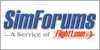 SimForums Flight1.com logo